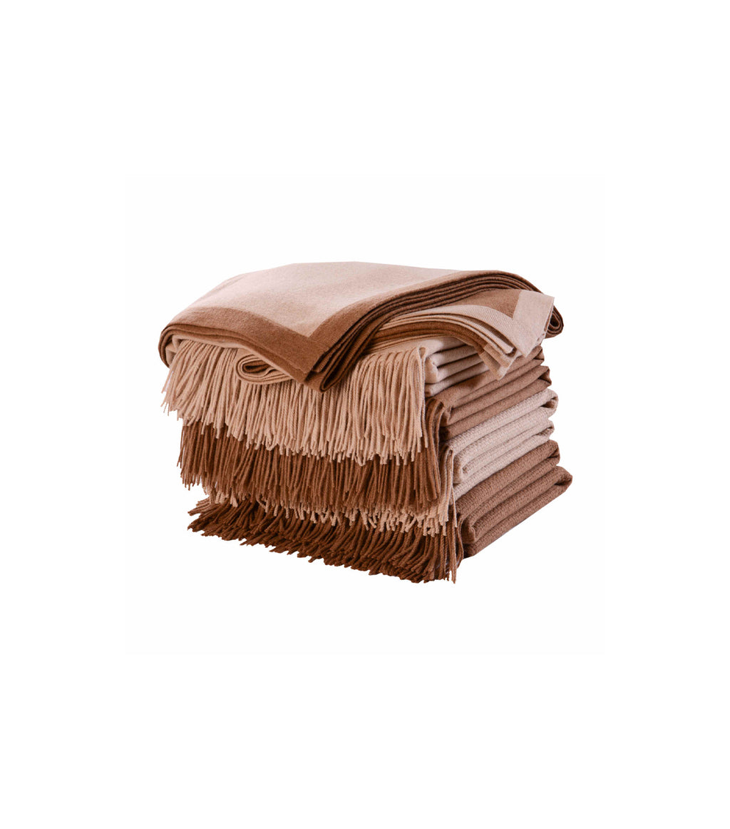 Camel Hair Throw