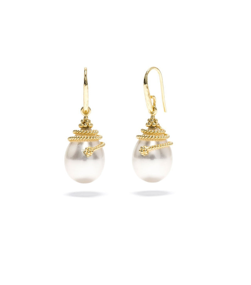 Lily Pearl Drop Earrings