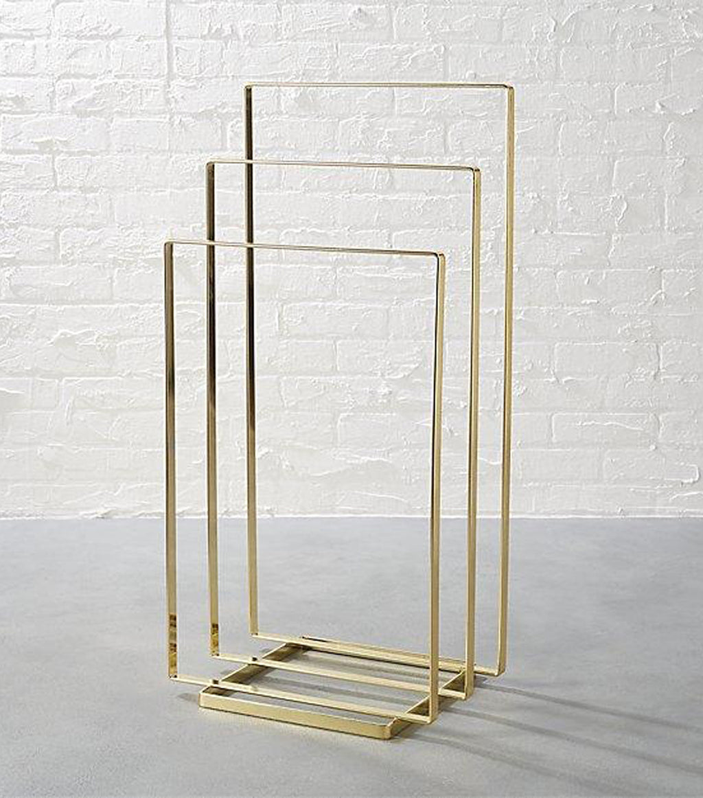 Brass Towel/Blanket Rack