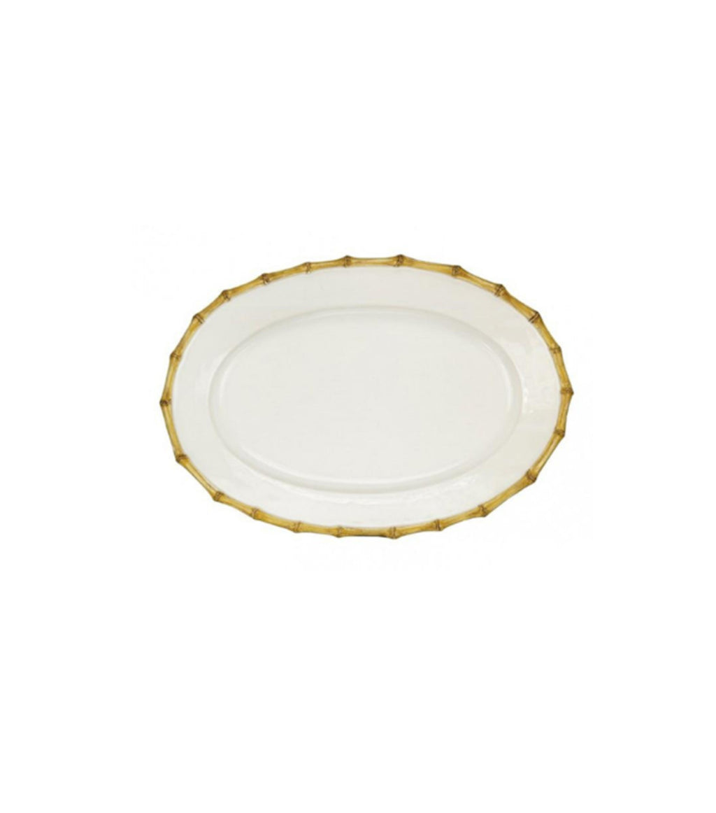 Classic Bamboo Medium Oval Platter
