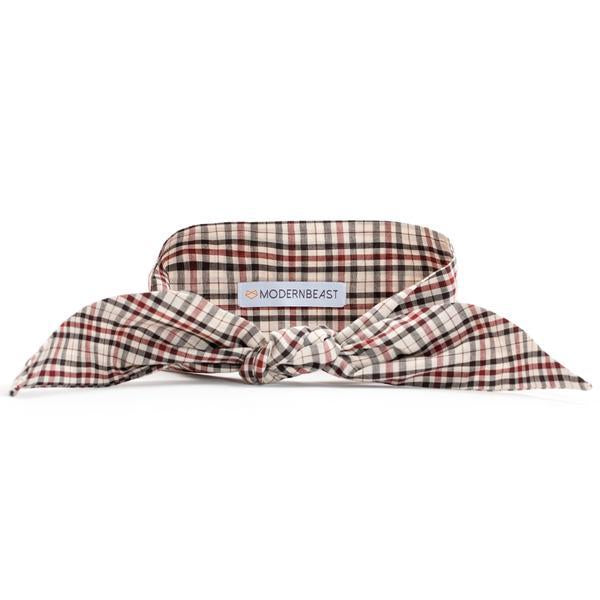 Classic Plaid Pet Necktie