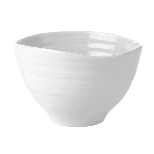 White Small Footed Bowl