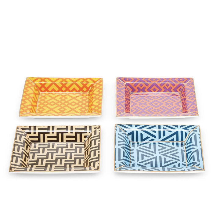 Geometric Decorative Tray