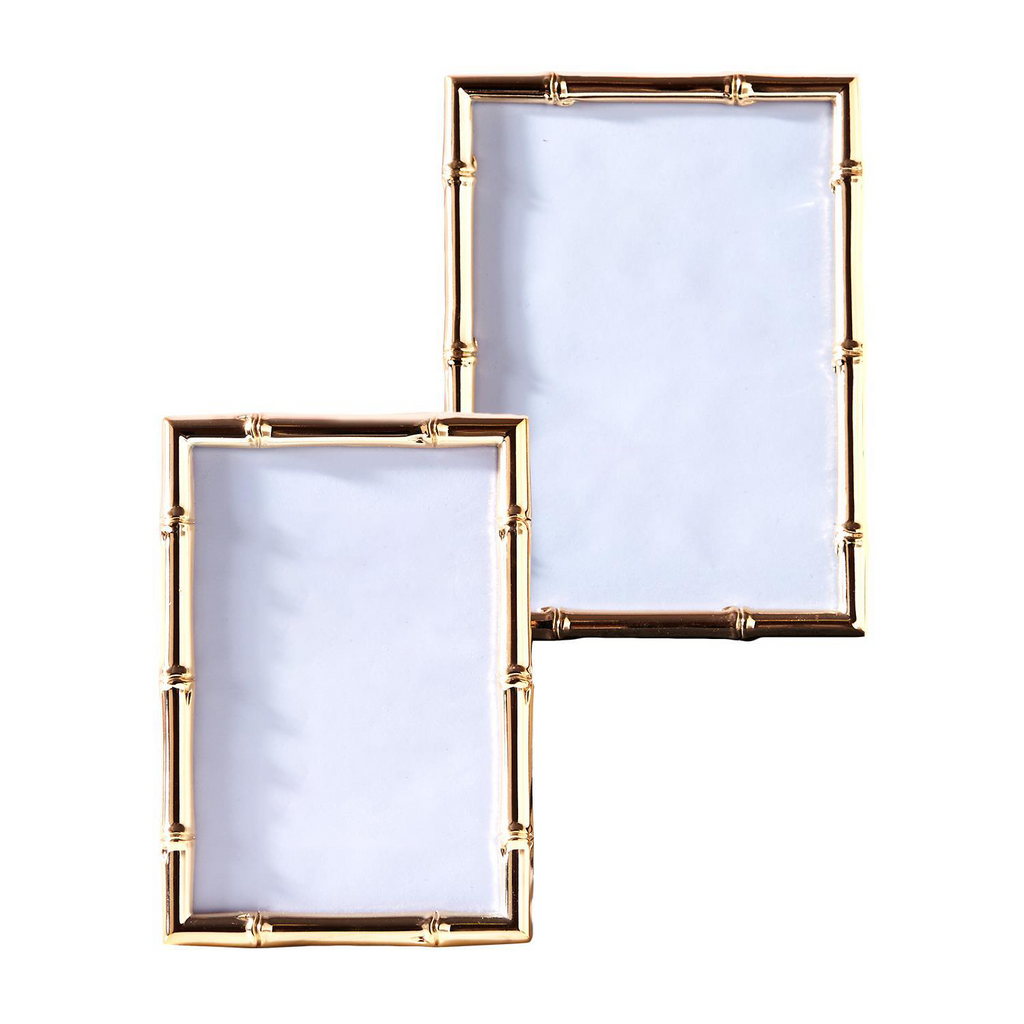 Rose Gold Bamboo Photo Frame