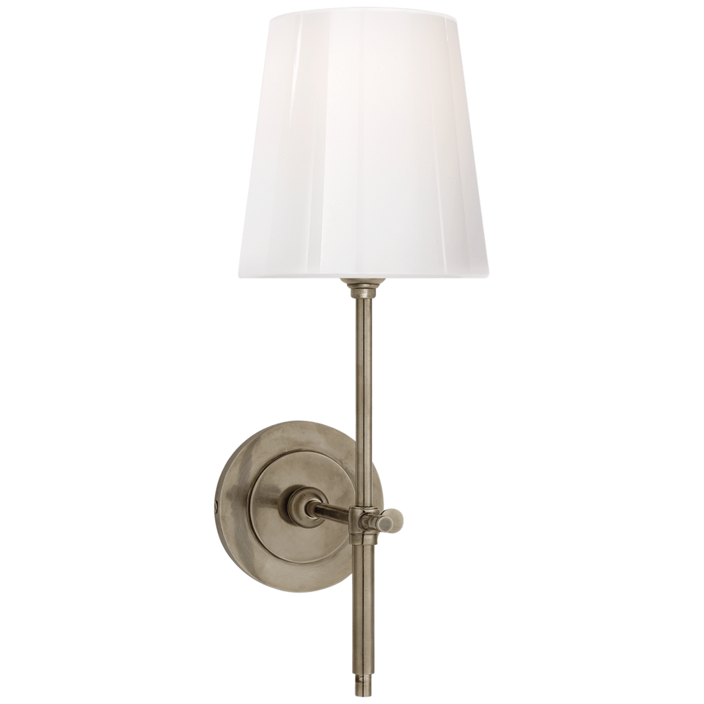 Bryant Sconce w/ White Glass Shade