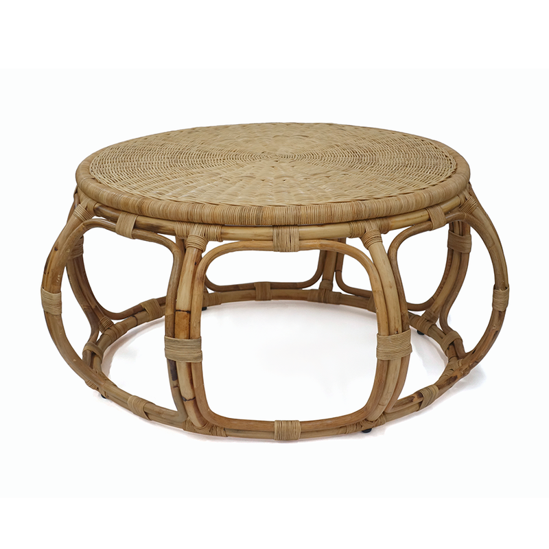 Adrina Rattan Chair w/ Cushion