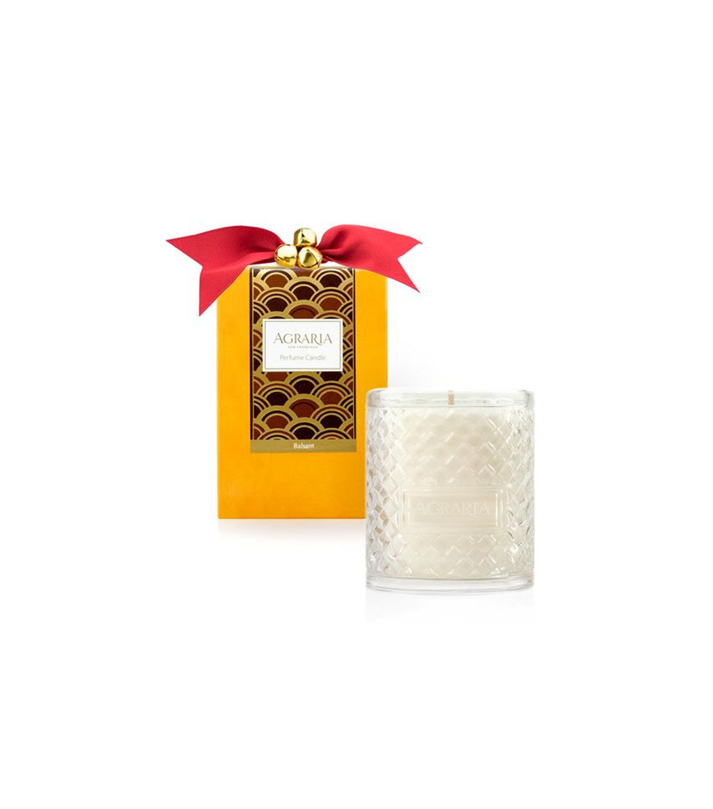 Holiday Crystal Candle