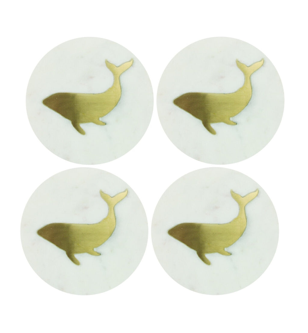 Round Whale Coasters
