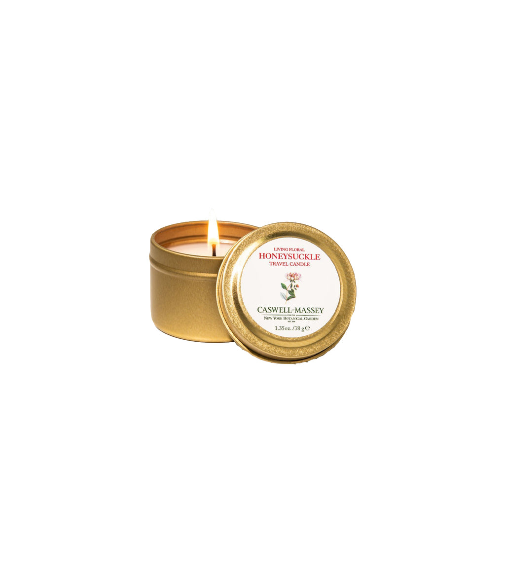 NYBG Floral Travel Candle