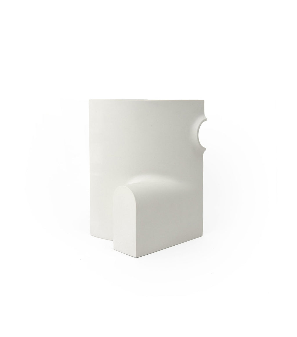 Matte Porcelain Sections Vase/C