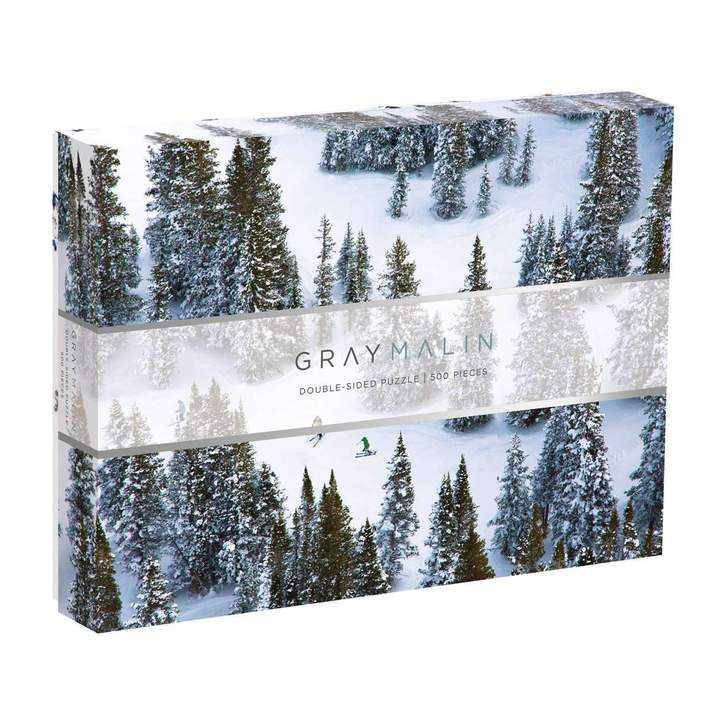 Gray Malin The Snow 2-Sided Puzzle