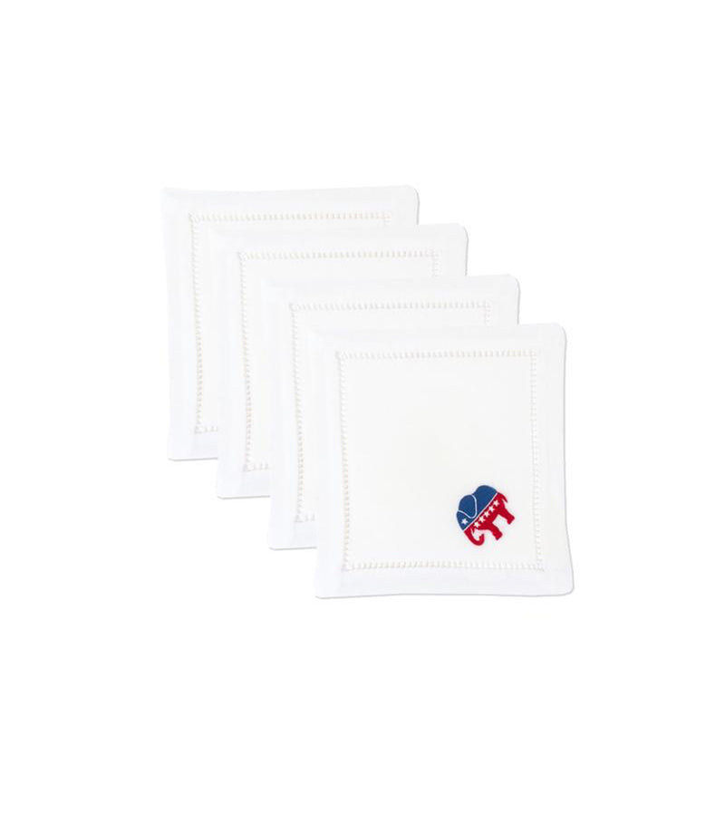 Political Party Cocktail Napkins