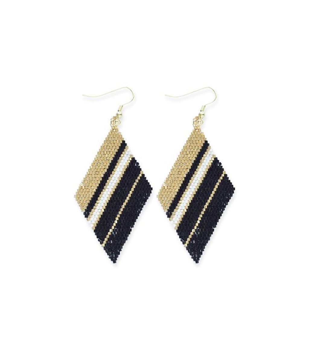 Diamond Luxe Stripe Earring