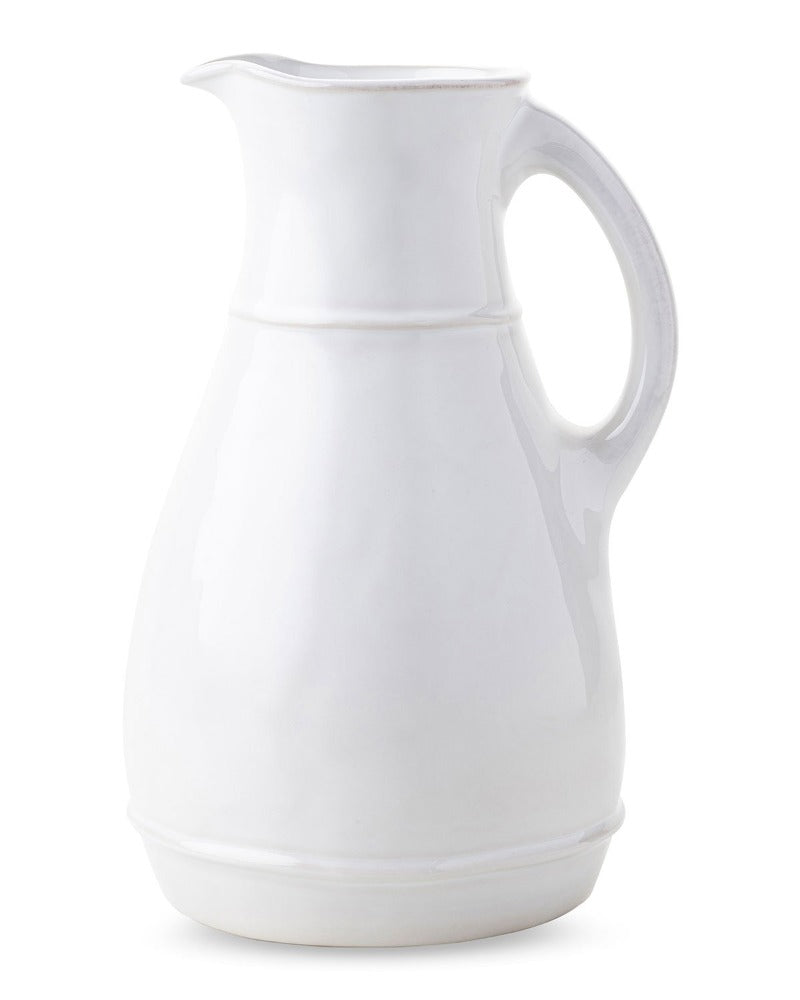 Whitewash Pitcher Vase