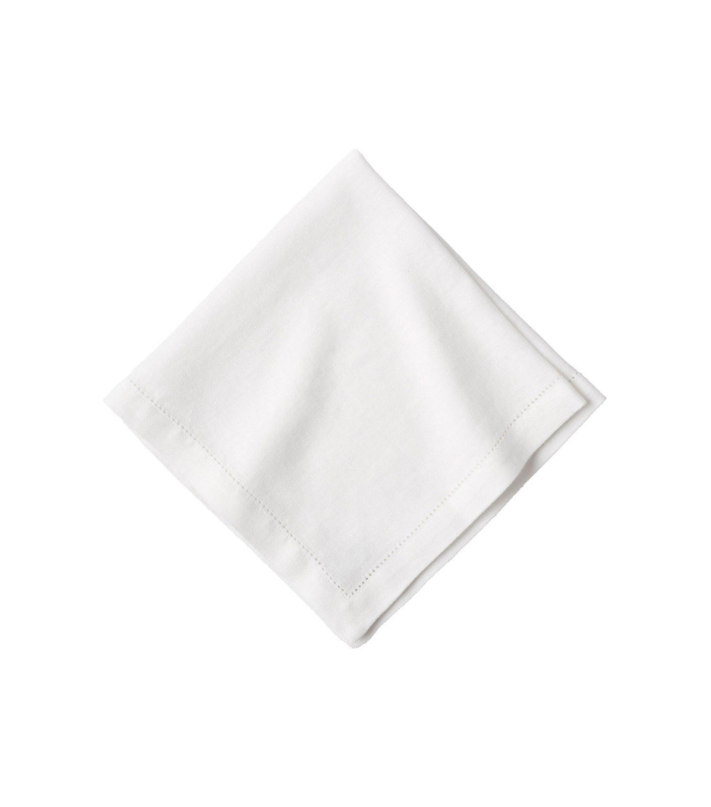 Heirloom White Linen Napkins