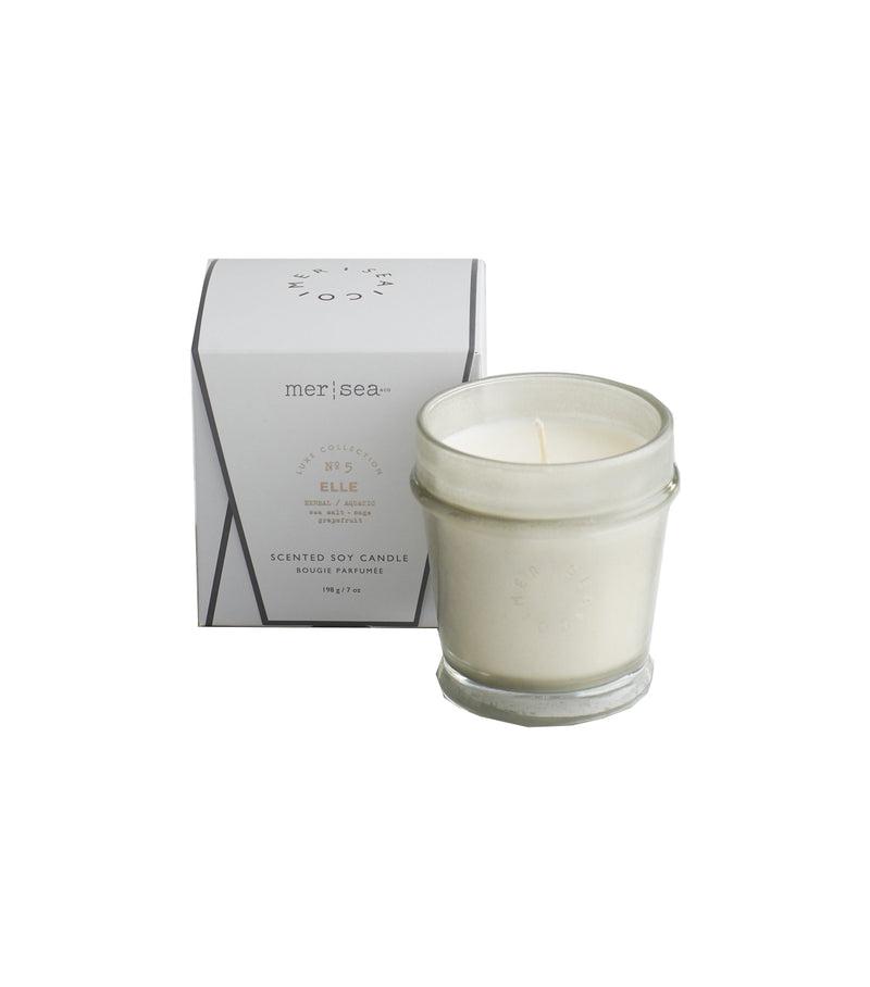 Mer Sea Signature Boxed Candle