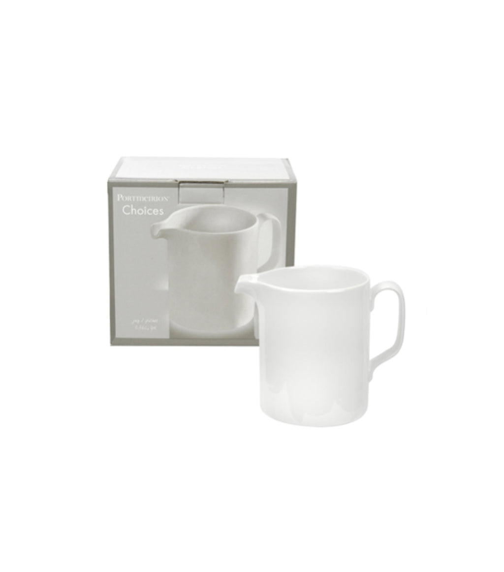 Choices White 2 pt Jug