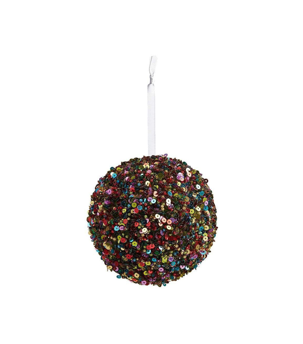 Jewel Sequin Ball Ornament