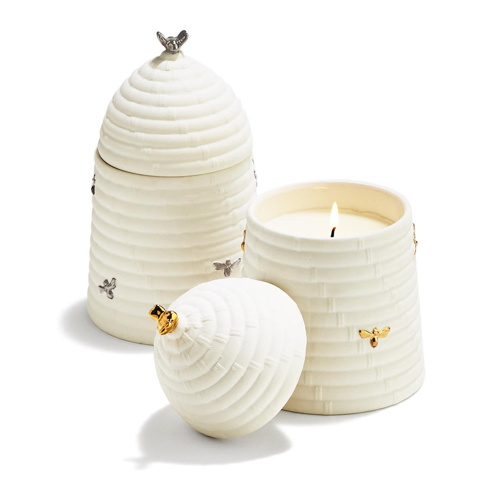 Bee Skep Candle in a Gift Box
