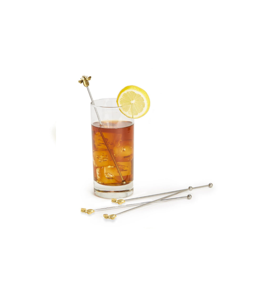 Bee Happy Cocktail Stirrers