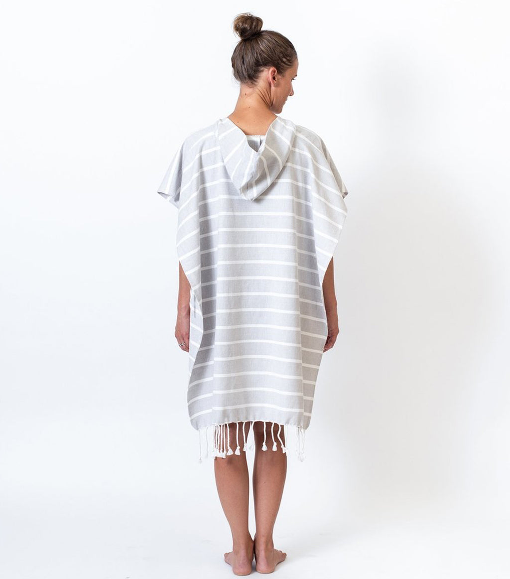 Organic Cotton Adult Poncho