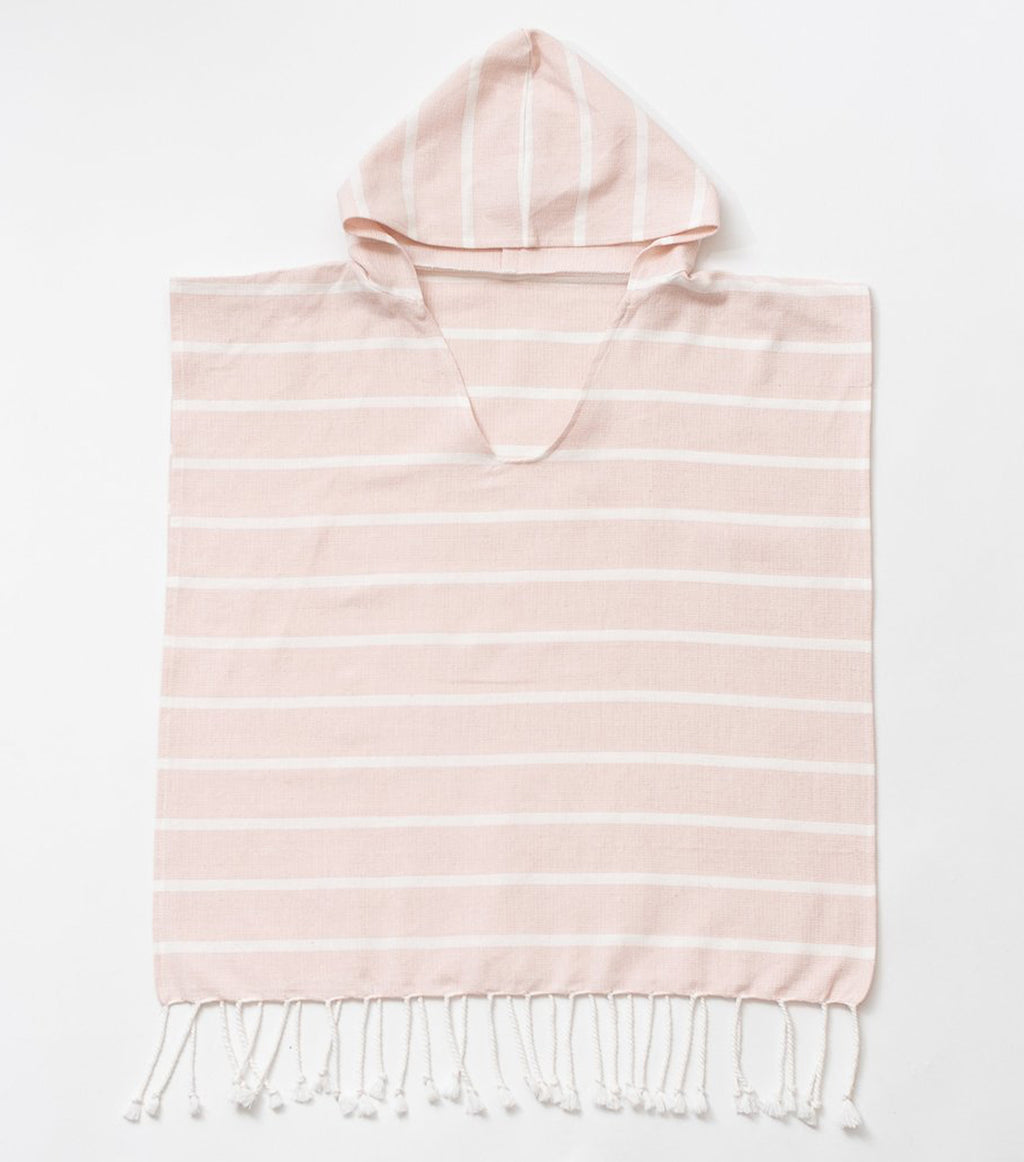 Organic Cotton Kids Poncho