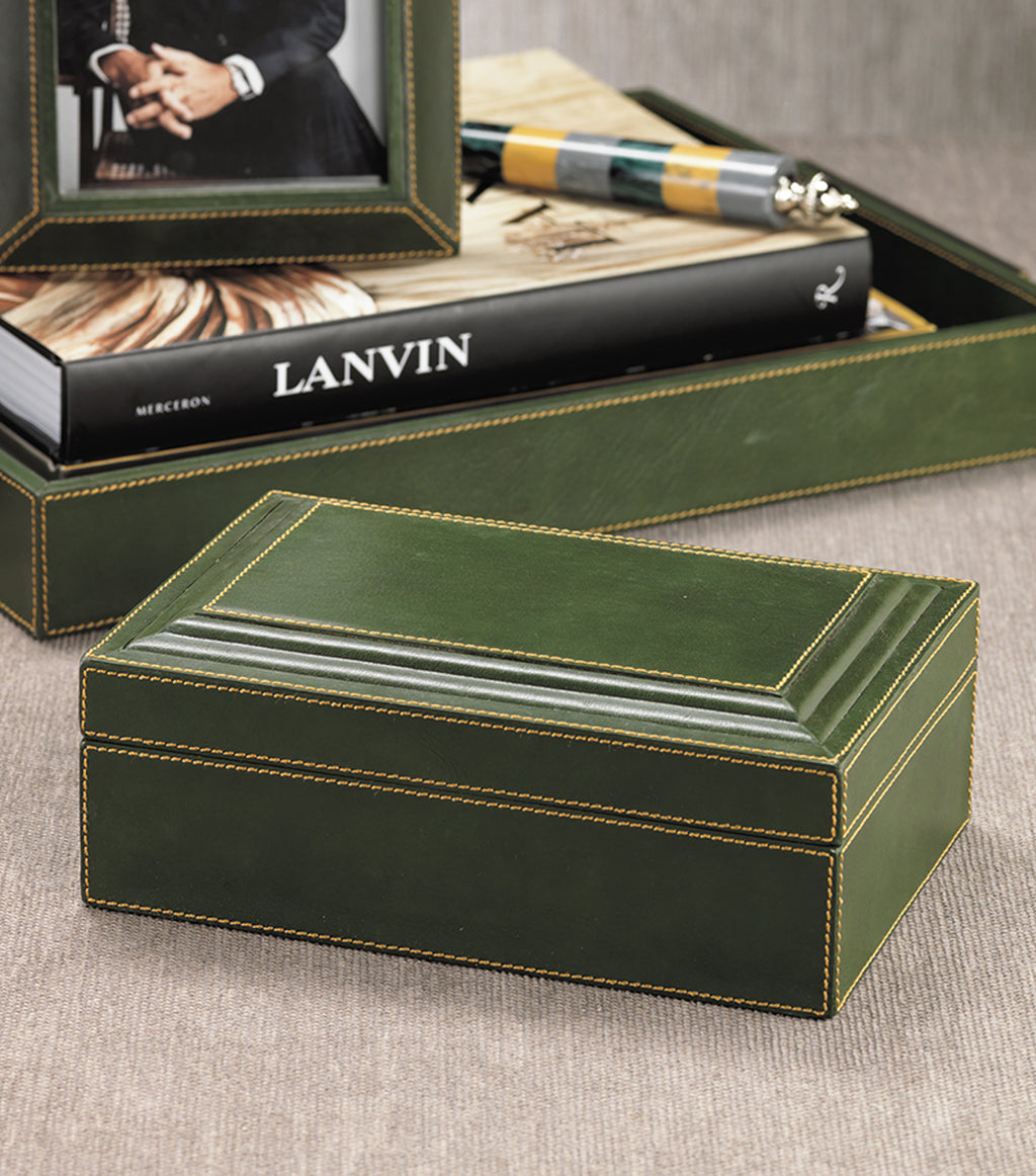 Green Leather Box