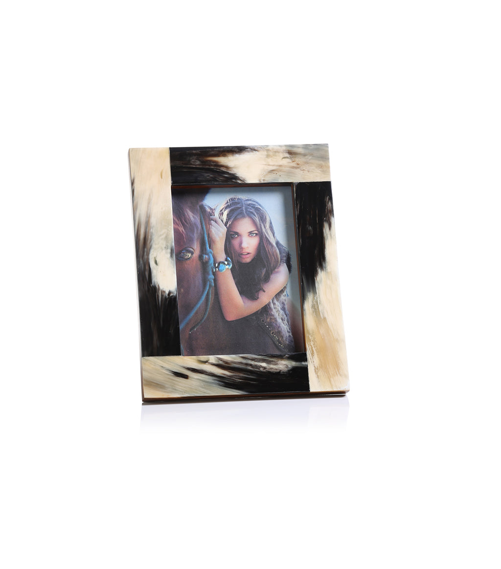 Granular Horn Photo Frame - 5x7