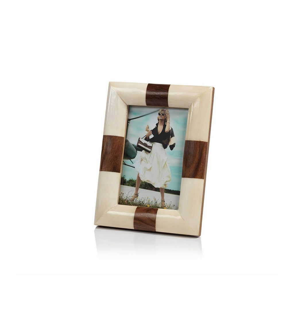 White Bone Photo Frame