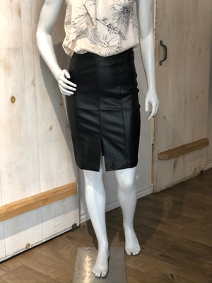 BISHOP & YOUNG Vegan Leather Pencil Skirt