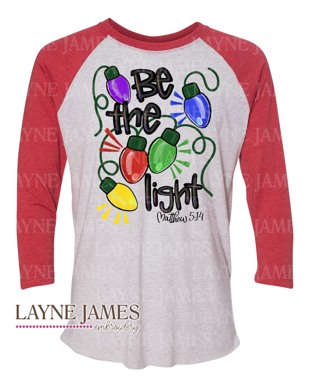 "Christmas ""Be the Light"" Tee"