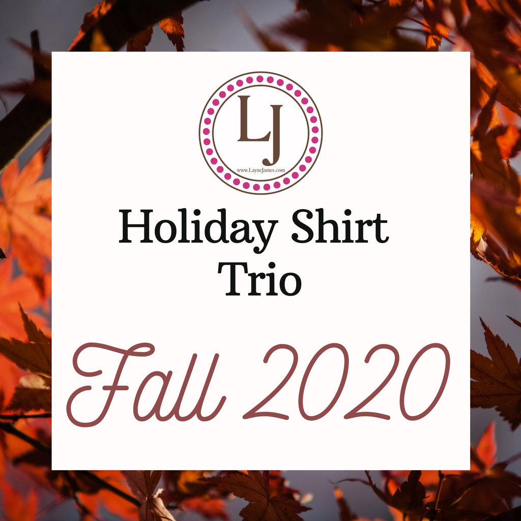 Holiday Shirt Trio - Fall 2020