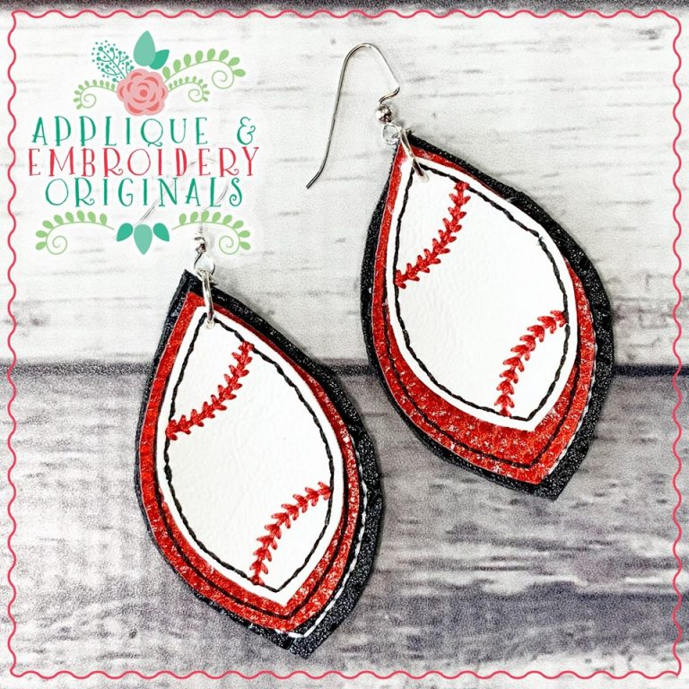 Team Colors Sports Earrings