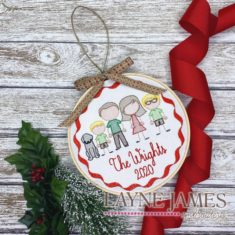 Custom Family Ornament