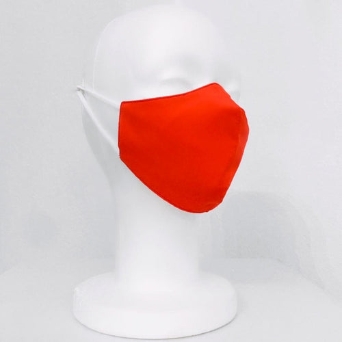 Keneea Linton Orange Cotton Mask