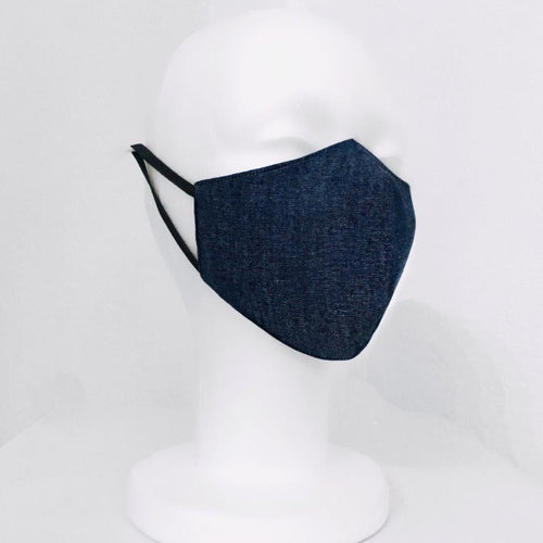 Keneea Linton Blue Denim Mask