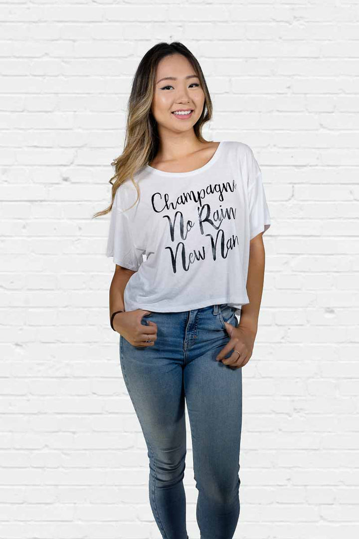 Champagne New Name Boxy Tee