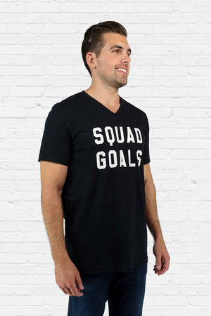 Squad Goals V-neck Tee