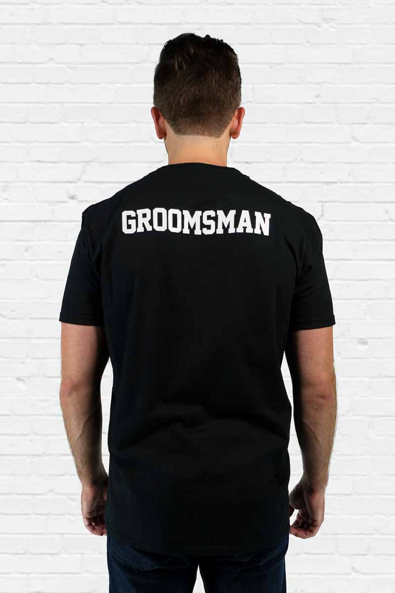 Squad Goals Groomsman Pocket Tee