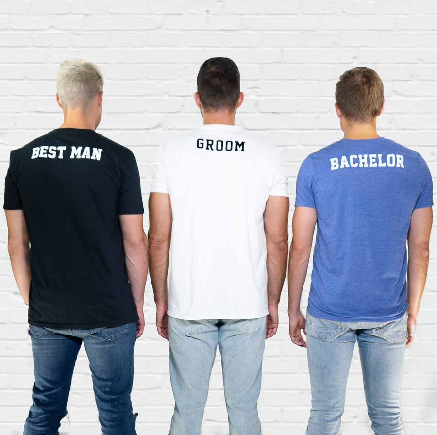Squad Goals Bachelor Pocket Tee