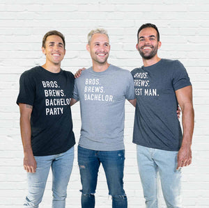 Bros Brews Bachelor Tee