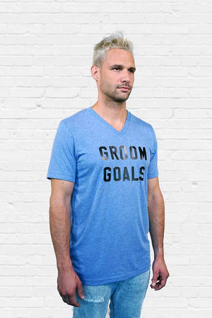 Groom Goals V-neck Tee