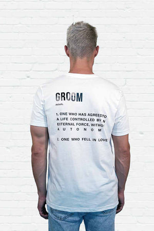 The Groom Definition Tee