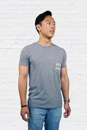 Squad Goals Entourage Pocket Tee