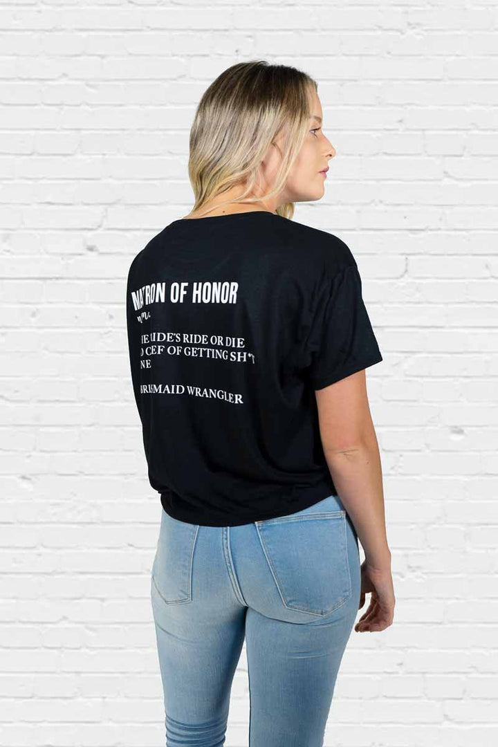 Matron of Honor Definition Boxy Tee
