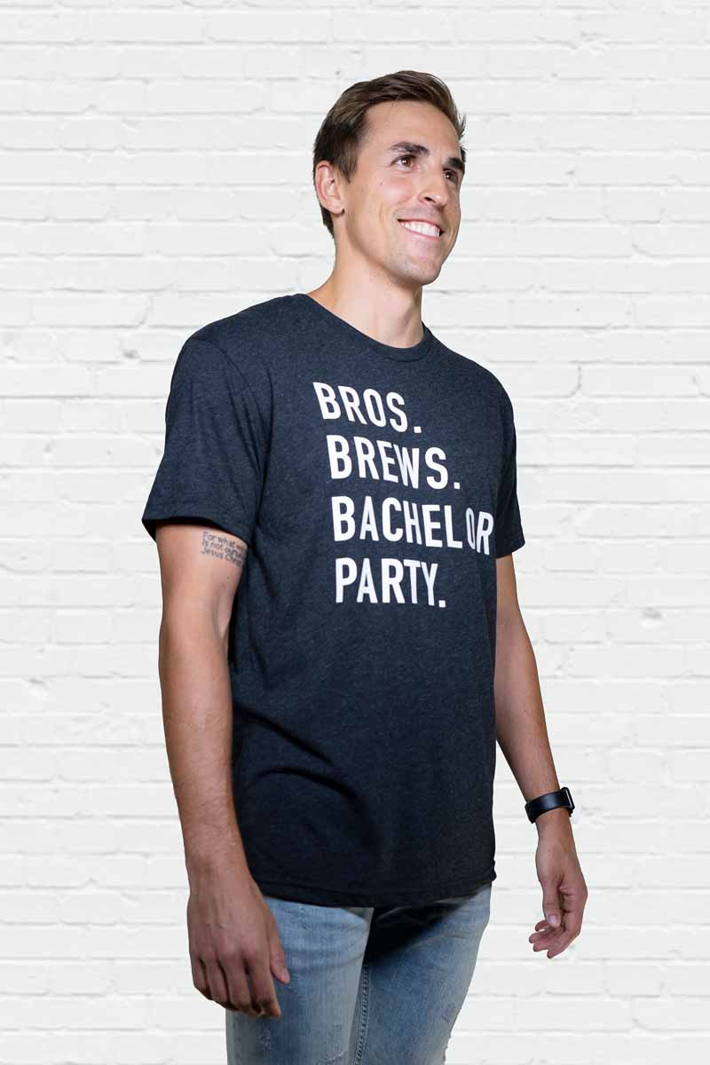 Bros Brews Bachelor Party Tee