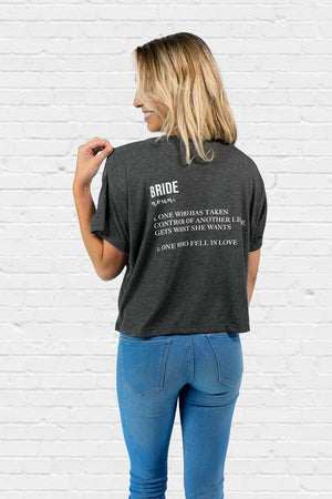 Bride Definition Boxy Tee