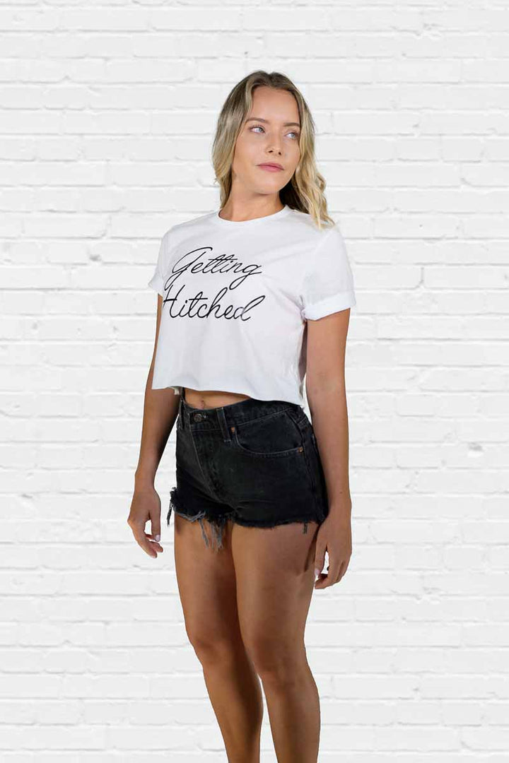 Getting Hitched Crop Tee