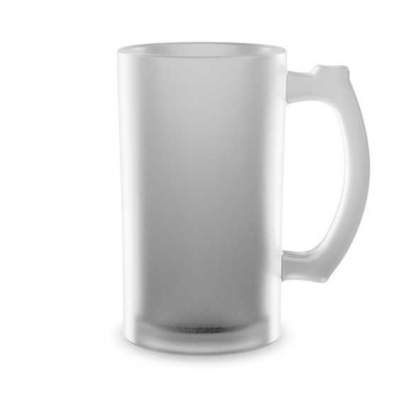 16 oz Frosted Beer Stein