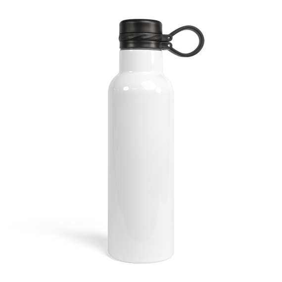 20 oz Sports Water Bottle w/ Loop-Top Lid